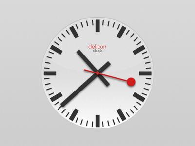 Clock by Daniel Brzanov