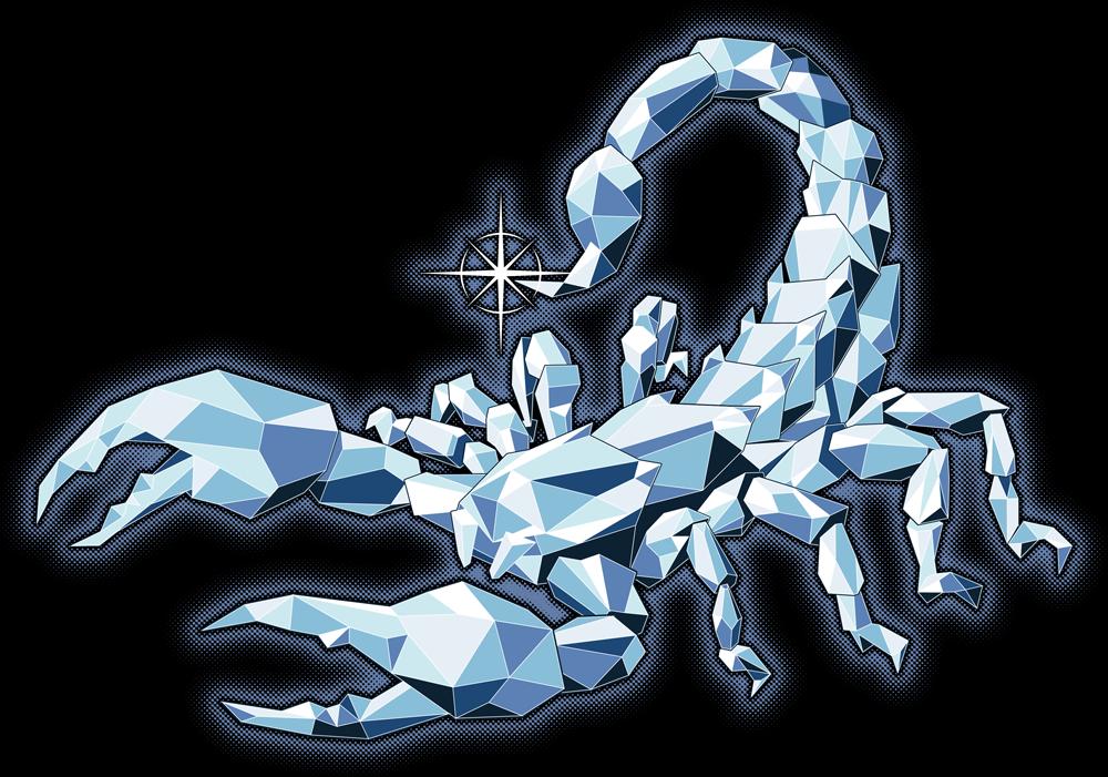 Diamond Scorpion by Phineas X. Jones