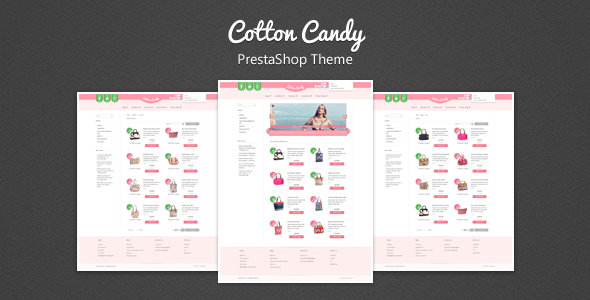 screenshot   large preview1 Clean and Modern E commerce Prestashop Themes