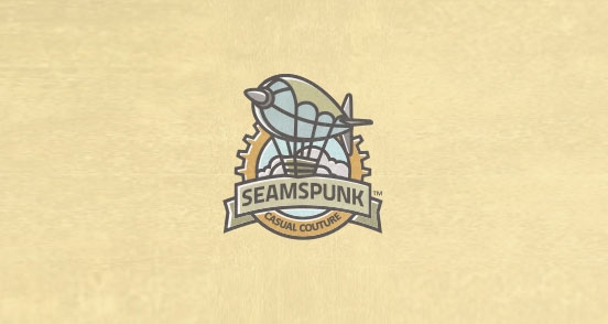 seamspunk l1 30 Creative Ribbon Logo Designs
