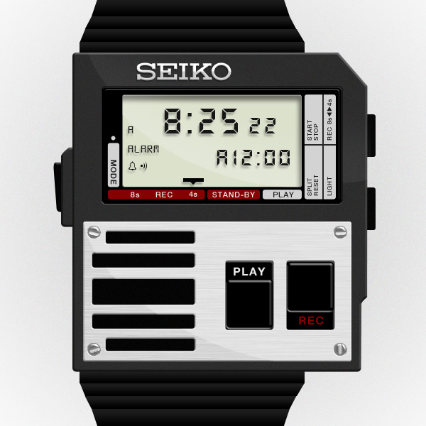 Seiko Voice Note Watch by miketownson