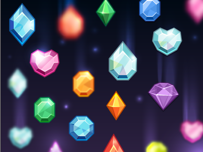 space crystals1 Inspiration Mix: Gems, Jewels, Crystals and Diamonds