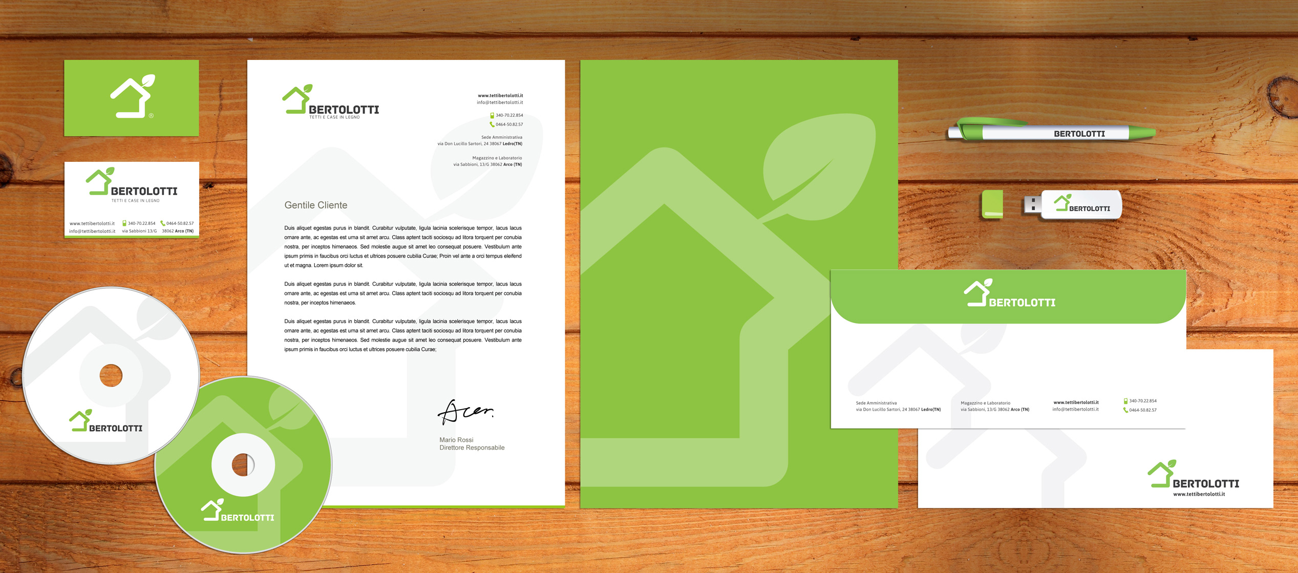 Corporate stationery by Richard Di Cesidio
