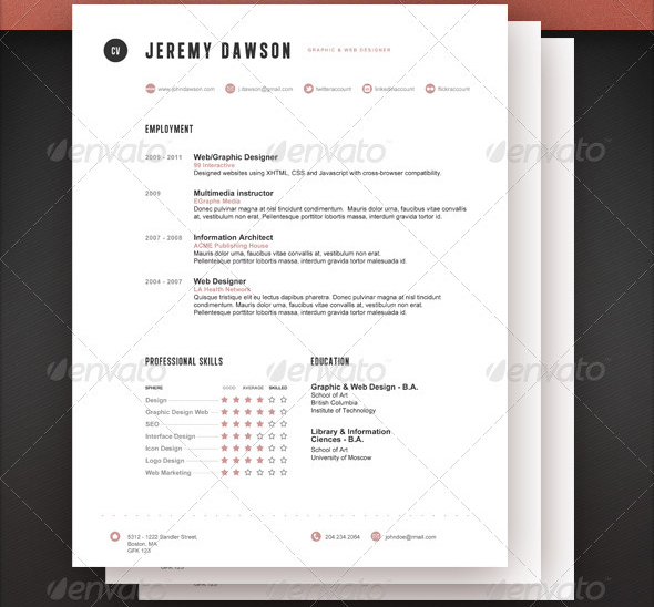 Stylish-Resume