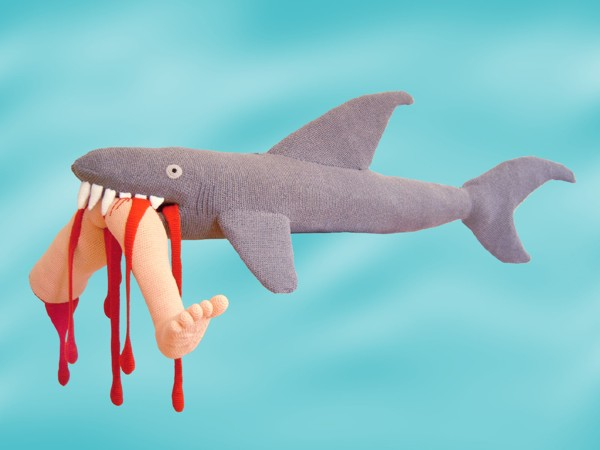 violent toys shark1 Disturbing and Violent Plush Toys by Patricia Waller