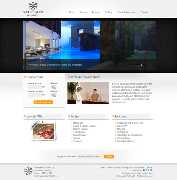 07e28de0afc68f47a445c1cc05bcbe141 20 Interestingly Designed Wellness Resort Websites