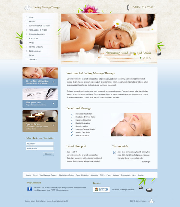 ba6bfb712b3ec3001adae680c190f6861 20 Interestingly Designed Wellness Resort Websites