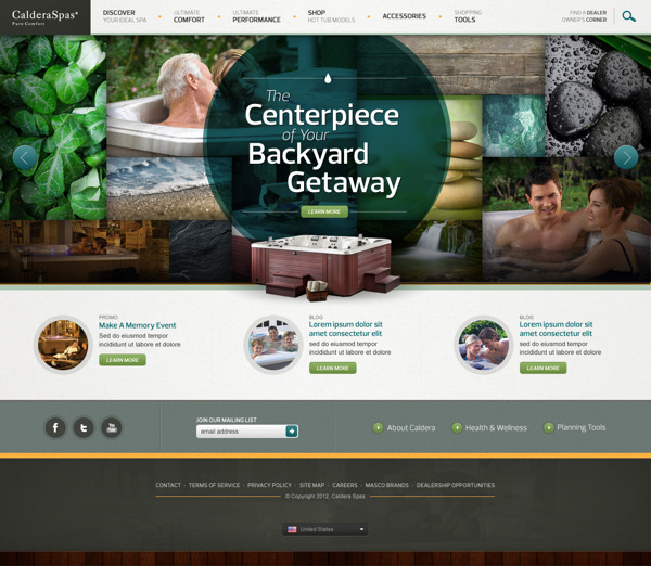 dd2290b2f513edc490650dd78c2c81da1 20 Interestingly Designed Wellness Resort Websites