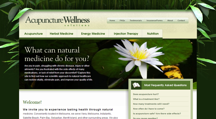 health industry web design 291 20 Interestingly Designed Wellness Resort Websites